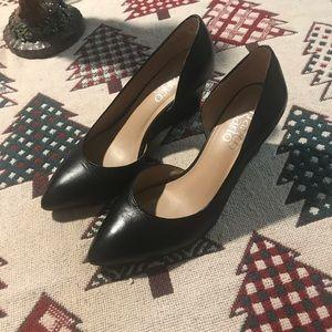 Franco Sarto black pump heels